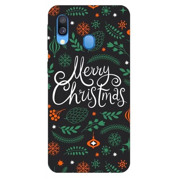 Husa Slim Silicon Upzz X-mass Print Samsung Galaxy A40 Model Christmas 1 imagine itelmobile.ro 2021