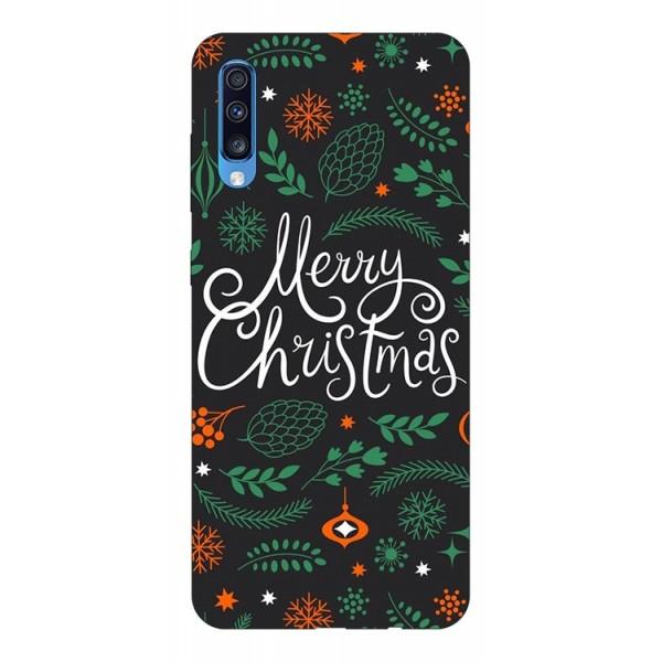 Husa Slim Silicon Upzz X-mass Print Samsung Galaxy A70 Model Christmas 1 imagine itelmobile.ro 2021