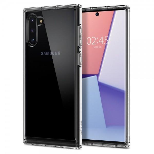 Husa Premium Spigen Crystal Hybrid Samsung Galaxy Note 10 Transparenta imagine itelmobile.ro 2021
