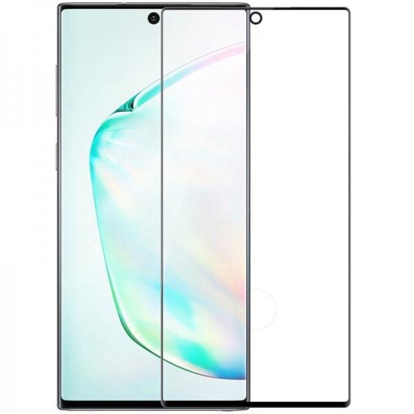 Folie Sticla Mr. Monkey Hot Bending Pentru Samsung Galaxy Note 10, 3d, 9h, 0.33 Mm, Full Cover (acopera Tot Ecranul), Negru imagine itelmobile.ro 2021