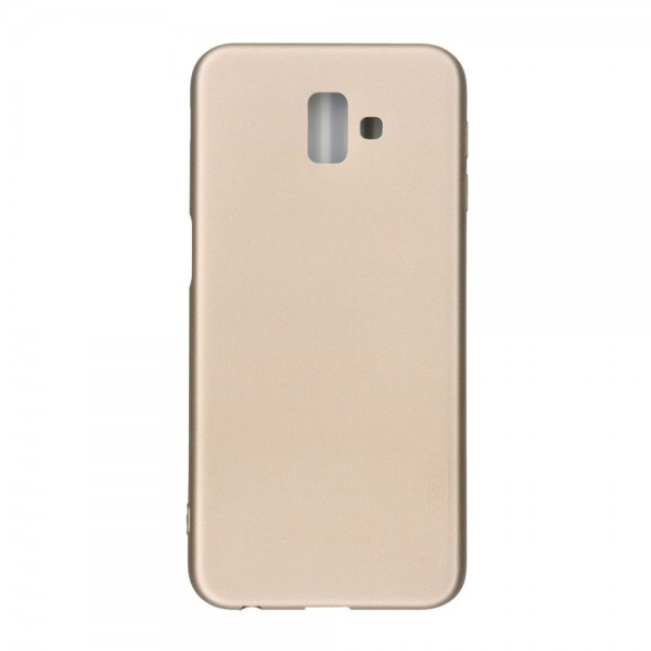 Husa Ultra Slim Pro Guardian X-level Samsung Galaxy J6+ Plus 2018 Gold Cu Folie Sticla Upzz Glass imagine itelmobile.ro 2021