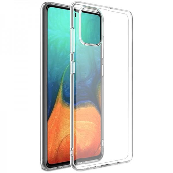 Husa Silicon Anti Shock Roar Jelly Samsung Galaxy A71 Transparenta imagine itelmobile.ro 2021