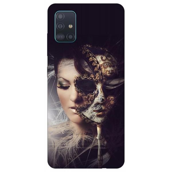 Husa Silicon Soft Upzz Print Samsung Galaxy A51 Model Carnaval imagine itelmobile.ro 2021