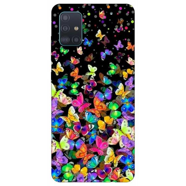 Husa Silicon Soft Upzz Print Samsung Galaxy A51 Model Colorature imagine itelmobile.ro 2021