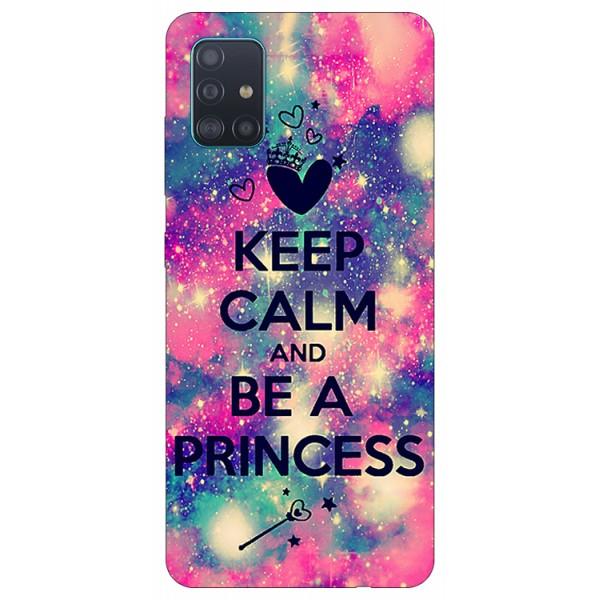 Husa Silicon Soft Upzz Print Samsung Galaxy A71 Model Be Princes imagine itelmobile.ro 2021