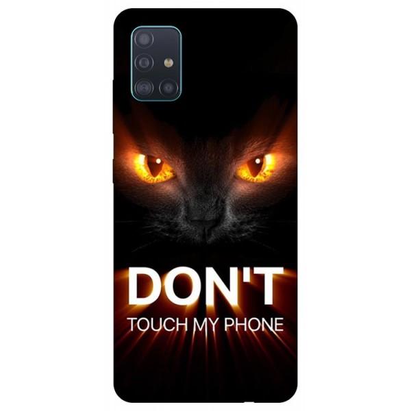 Husa Silicon Soft Upzz Print Samsung Galaxy A51 Model Myphone 1 imagine itelmobile.ro 2021