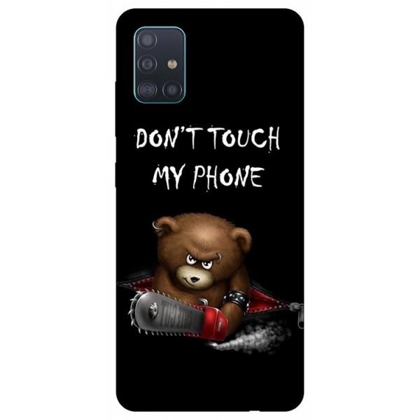 Husa Silicon Soft Upzz Print Samsung Galaxy A51 Model Myphone 2 imagine itelmobile.ro 2021