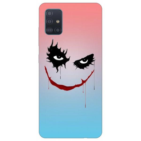 Husa Silicon Soft Upzz Print Samsung Galaxy A71 Model Joker imagine itelmobile.ro 2021