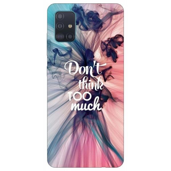 Husa Silicon Soft Upzz Print Samsung Galaxy A71 Model Motto imagine itelmobile.ro 2021