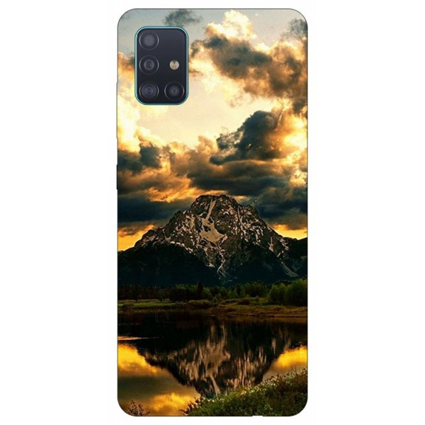 Husa Silicon Soft Upzz Print Samsung Galaxy A51 Model Apus imagine itelmobile.ro 2021