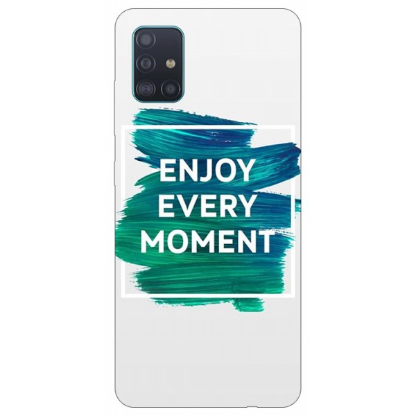 Husa Silicon Soft Upzz Print Samsung Galaxy A51 Model Enjoy imagine itelmobile.ro 2021