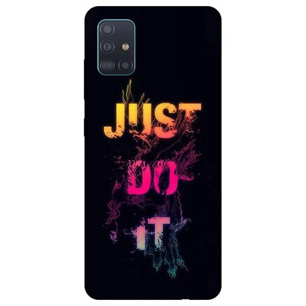Husa Silicon Soft Upzz Print Samsung Galaxy A51 Model Jdi imagine itelmobile.ro 2021