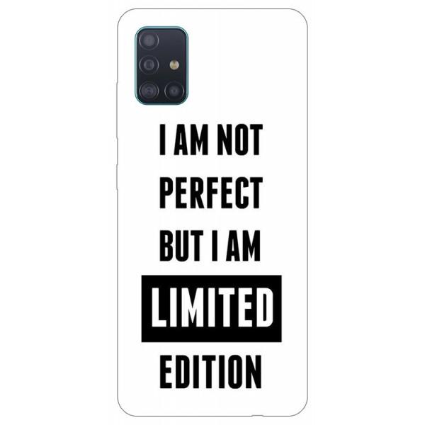 Husa Silicon Soft Upzz Print Samsung Galaxy A51 Model Limited Edition imagine itelmobile.ro 2021