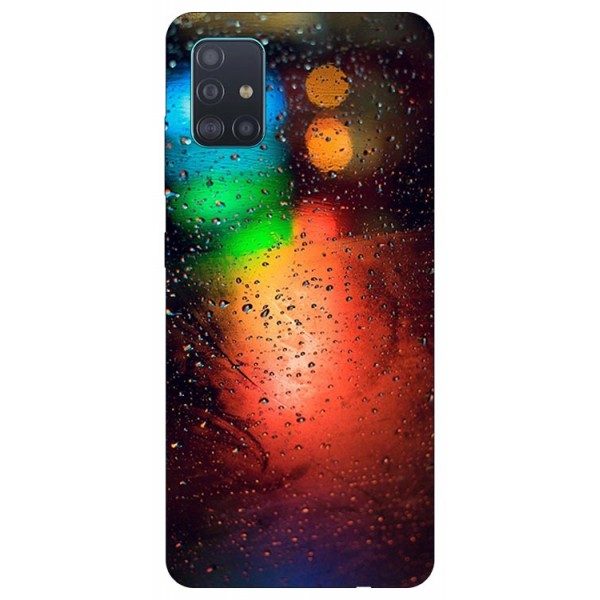Husa Silicon Soft Upzz Print Samsung Galaxy A51 Model Multicolor imagine itelmobile.ro 2021