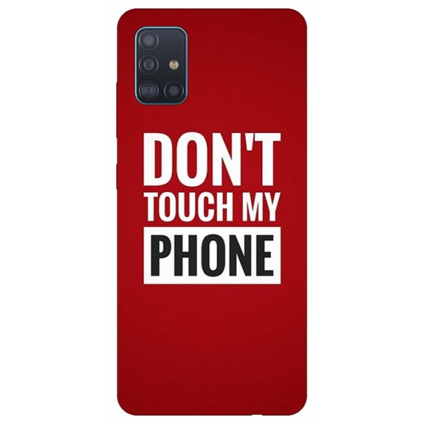 Husa Silicon Soft Upzz Print Samsung Galaxy A51 Model My Phone imagine itelmobile.ro 2021