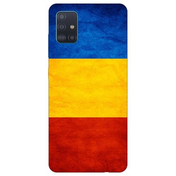 Husa Silicon Soft Upzz Print Samsung Galaxy A51 Model Tricolor imagine itelmobile.ro 2021