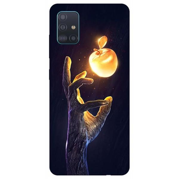 Husa Silicon Soft Upzz Print Samsung Galaxy A71 Model Reach imagine itelmobile.ro 2021