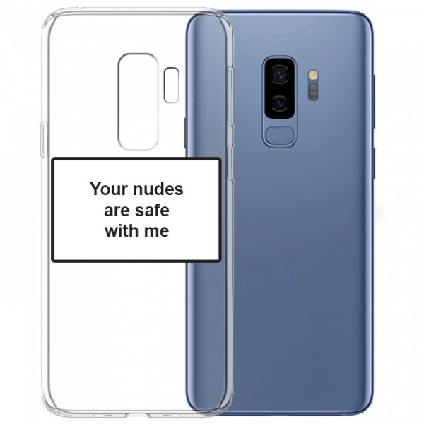 Husa Spate Silicon Upzz Label Samsung Galaxy S9 Plus Model Nudes imagine itelmobile.ro 2021