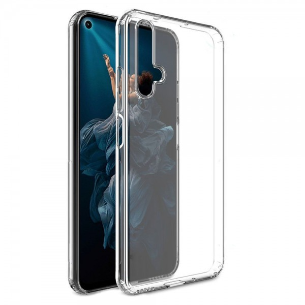 Husa Slim Premium Upzz Crystal Cu Tehnologie Air Cusion Huawei P Smart Pro Transparenta imagine itelmobile.ro 2021