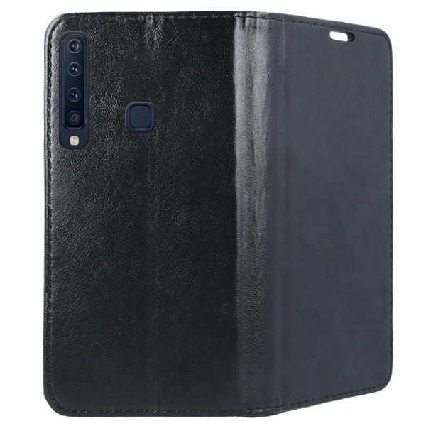 Husa Upzz Flip Carte Cu Magnet Book Compatibila Cu Samsung Galaxy A9 2018 Negru imagine itelmobile.ro 2021