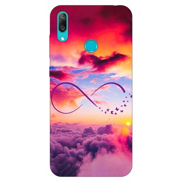 Husa Silicon Soft Upzz Print Huawei Y7 2019 Model Infinity imagine itelmobile.ro 2021