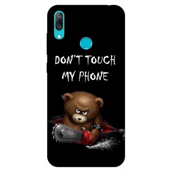 Husa Silicon Soft Upzz Print Huawei Y7 2019 Model My Phone 2 imagine itelmobile.ro 2021