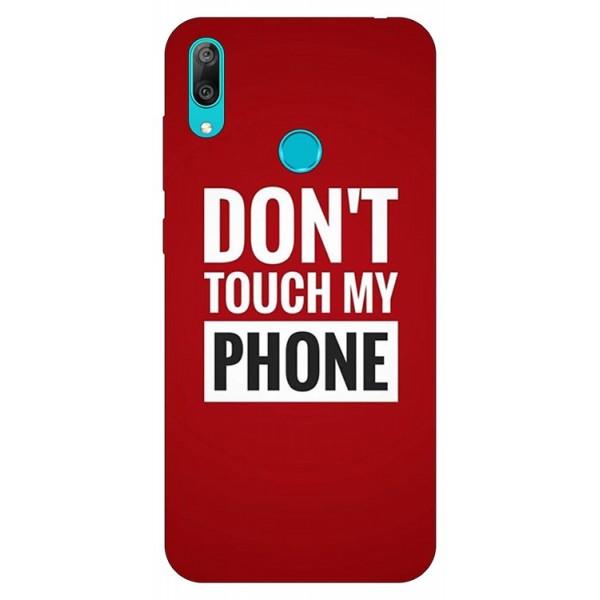 Husa Silicon Soft Upzz Print Huawei Y7 2019 Model Myphone imagine itelmobile.ro 2021