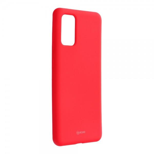 Husa Spate Silicon Roar Jelly Samsung Galaxy S20+ Plus Hot Roz imagine itelmobile.ro 2021