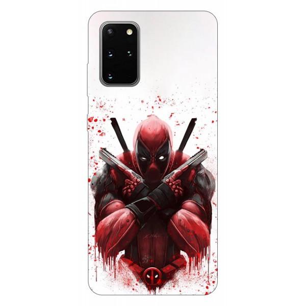 Husa Silicon Soft Upzz Print Samsung Galaxy S20 Plus Model Antihero imagine itelmobile.ro 2021