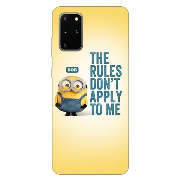 Husa Silicon Soft Upzz Print Samsung Galaxy S20 Plus Model Bob imagine itelmobile.ro 2021