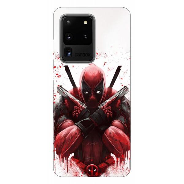 Husa Silicon Soft Upzz Print Samsung Galaxy S20 Ultra Model Antihero imagine itelmobile.ro 2021