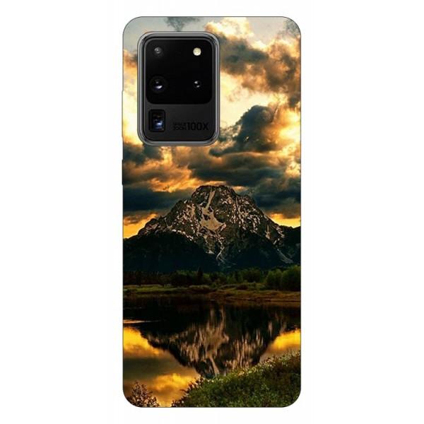 Husa Silicon Soft Upzz Print Samsung Galaxy S20 Ultra Model Apus imagine itelmobile.ro 2021