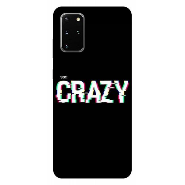 Husa Silicon Soft Upzz Print Samsung Galaxy S20 Plus Model Crazy imagine itelmobile.ro 2021