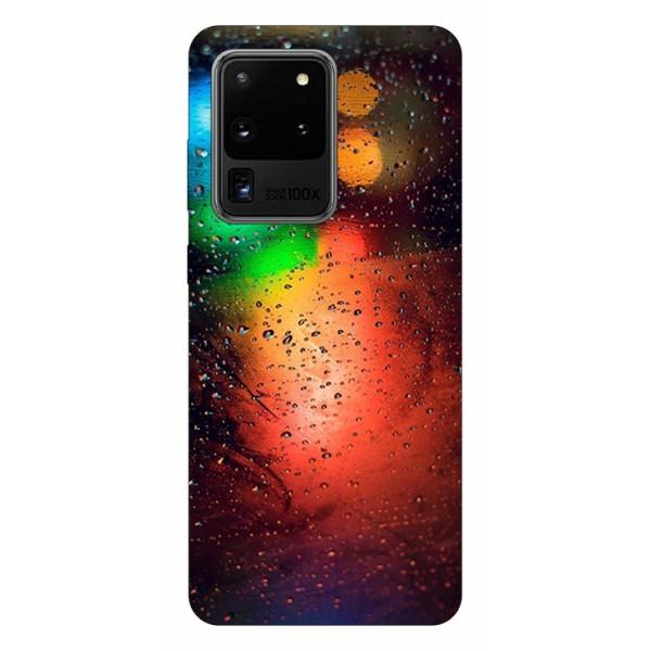 Husa Silicon Soft Upzz Print Samsung Galaxy S20 Ultra Model Multicolor imagine itelmobile.ro 2021