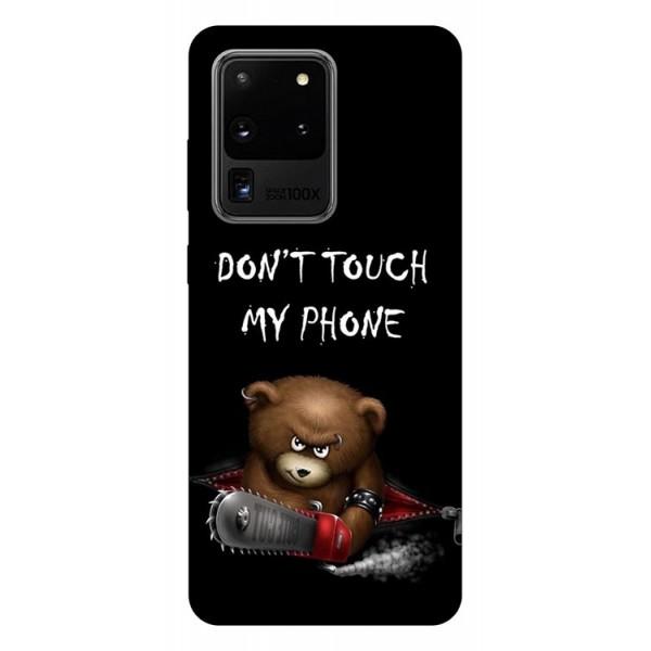 Husa Silicon Soft Upzz Print Samsung Galaxy S20 Ultra Model My Phone 2 imagine itelmobile.ro 2021