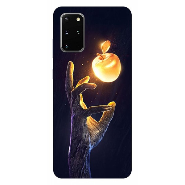 Husa Silicon Soft Upzz Print Samsung Galaxy S20 Plus Model Reach imagine itelmobile.ro 2021
