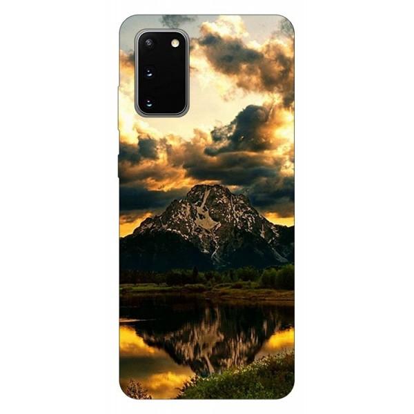 Husa Silicon Soft Upzz Print Samsung Galaxy S20 Model Apus imagine itelmobile.ro 2021