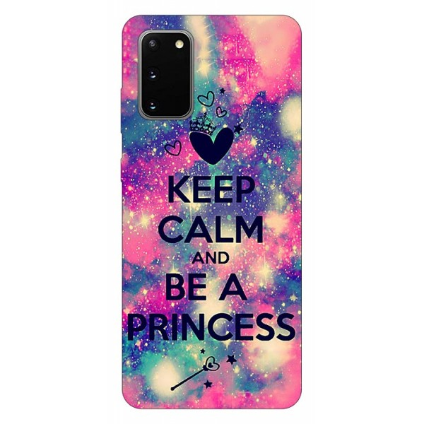 Husa Silicon Soft Upzz Print Samsung Galaxy S20 Model Be Princess imagine itelmobile.ro 2021