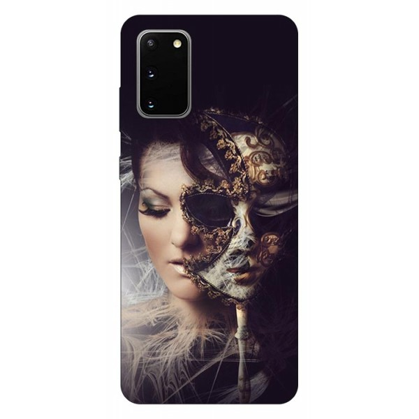 Husa Silicon Soft Upzz Print Samsung Galaxy S20 Model Carnaval imagine itelmobile.ro 2021