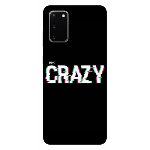 Husa Silicon Soft Upzz Print Samsung Galaxy S20 Model Crazy imagine itelmobile.ro 2021