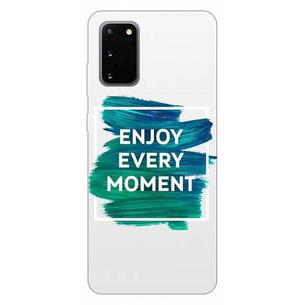 Husa Silicon Soft Upzz Print Samsung Galaxy S20 Model Enjoy imagine itelmobile.ro 2021