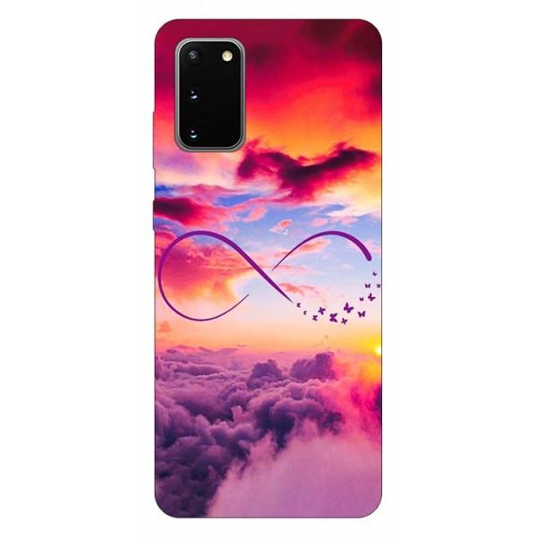 Husa Silicon Soft Upzz Print Samsung Galaxy S20 Model Infinity imagine itelmobile.ro 2021