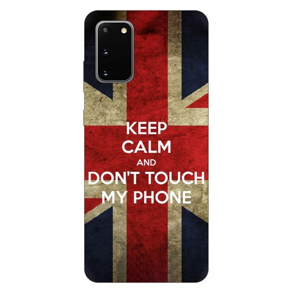 Husa Silicon Soft Upzz Print Samsung Galaxy S20 Model Keep Calm imagine itelmobile.ro 2021