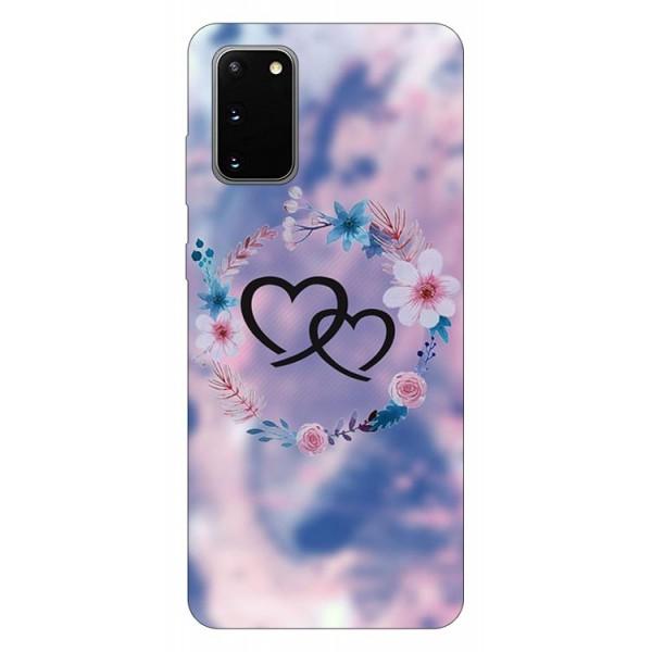 Husa Silicon Soft Upzz Print Samsung Galaxy S20 Model Love imagine itelmobile.ro 2021