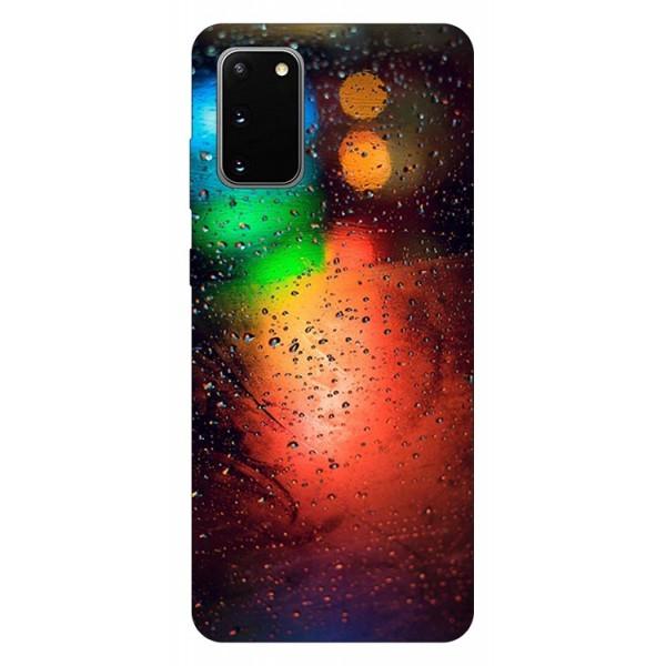 Husa Silicon Soft Upzz Print Samsung Galaxy S20 Model Multicolor imagine itelmobile.ro 2021