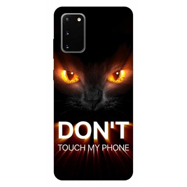 Husa Silicon Soft Upzz Print Samsung Galaxy S20 Model My Phone 1 imagine itelmobile.ro 2021