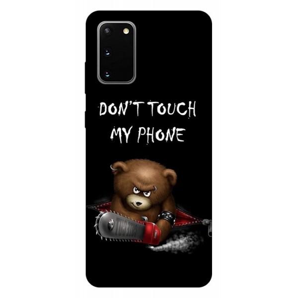 Husa Silicon Soft Upzz Print Samsung Galaxy S20 Model My Phone 2 imagine itelmobile.ro 2021