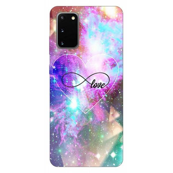 Husa Silicon Soft Upzz Print Samsung Galaxy S20 Model Neon Love imagine itelmobile.ro 2021