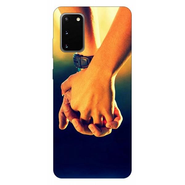 Husa Silicon Soft Upzz Print Samsung Galaxy S20 Model Together imagine itelmobile.ro 2021