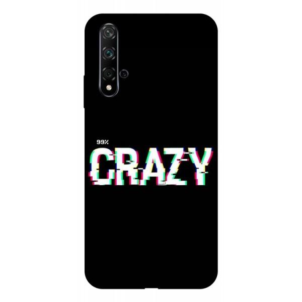Husa Silicon Soft Upzz Print Huawei Nova 5t Model Crazy imagine itelmobile.ro 2021